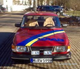 Der Saab 99 von Team Wagenheimer...