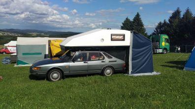 Toppola com tenda