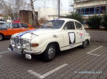 Das zweite Saab Team mit Saab 96 V4