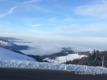 Schnee und Eis im Jura