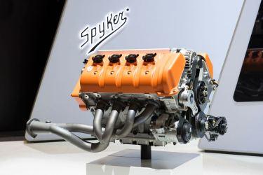 Ein V8 mit 5 Litern Hubraum. Foto: Spyker.