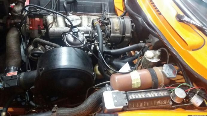 Ver en el compartimiento del motor. Foto: Jens.
