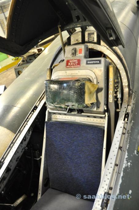Das Aeroseum bietet einen Einblick in die Geschichte von Saab.