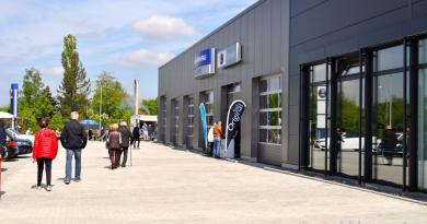 Saab reopening in Bamberg