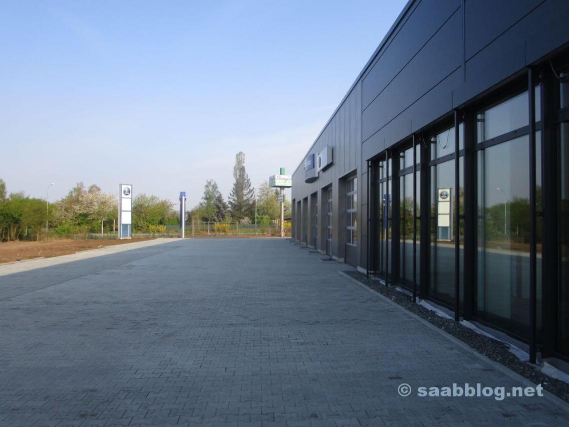 Um novo local Saab em Bamberg