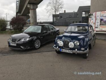 Saab Drömbils på Oldie Tanke
