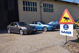 Salida de primavera de los amigos de Saab en Turingia
