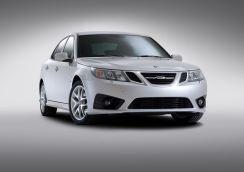 Ultima fase di sviluppo. Saab 9-3 Griffin MY 2011. Immagine: Saab Automobile AB