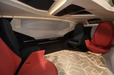 Eine fahrbare, voll autonome Lounge. Bild: NEVS