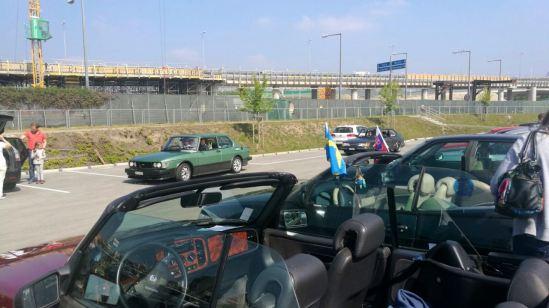 Saab rencontre Vienne. Impression. Image: Roland