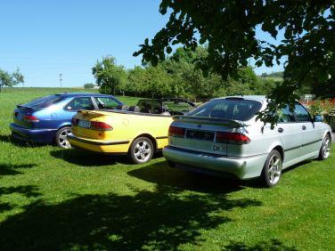 Viggen, Aero und Cabriolet. Foto: Hans