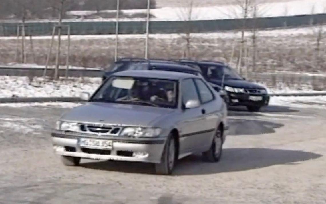 Saab 9-3 och 9-5 Aero på Boxberg-rutten