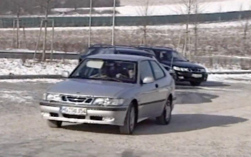 Saab 9-3 und 9-5 Aero auf der Boxberg Strecke