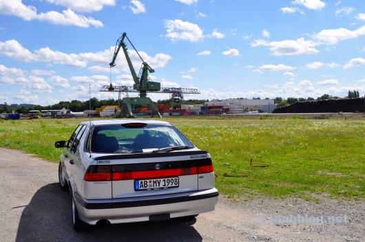 Saab trifft Industrie Brache.