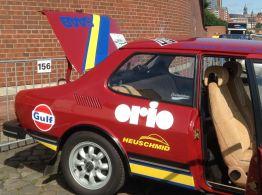 Och håll flaggan för Orio! Bild: Gerd och Robert Wagenheimer