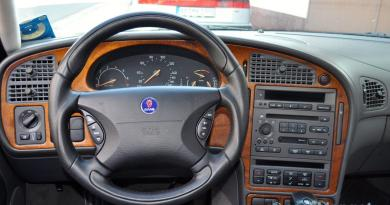 Schöner Lenken. Neues Lenkrad für den Saab 9-5 I.