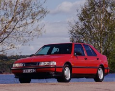 Durchschnittlich sicher. Saab 9000. Bild: Saab Automobile AB