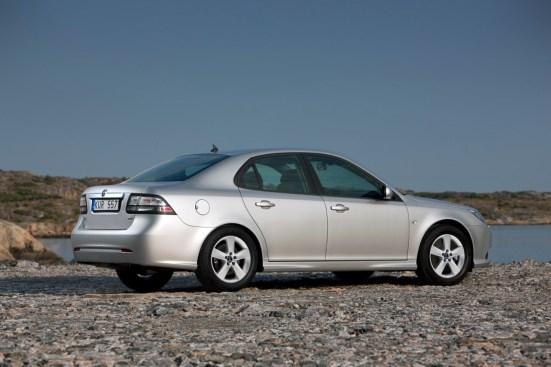 Auch überdurchschnittlich sicher. Saab 9-3 II. Bild: Saab Automobile AB