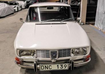 Saab 99 1971. Um marco para o Saab. Imagem: Bilweb Auctions