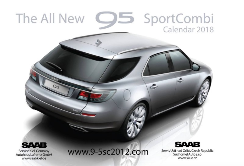 Saab 9-5 Kalender