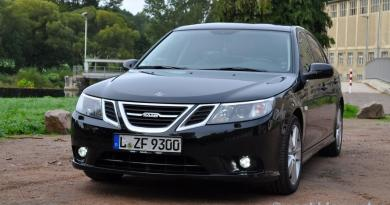 LED daytime running light for the Saab 9-3