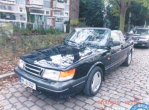 Saab 900 in Hamburg gestohlen.
