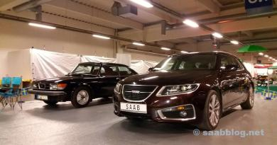 Saab 9-5 NG SC auf der Essen Motor Show