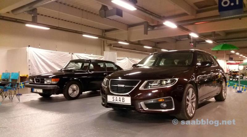 Saab 9-5 NG SC op de Essen Motor Show