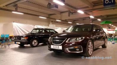 Saab 9-5 NG SC en el Salón del Automóvil de Essen