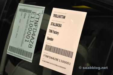 Saab production in Trollhättan