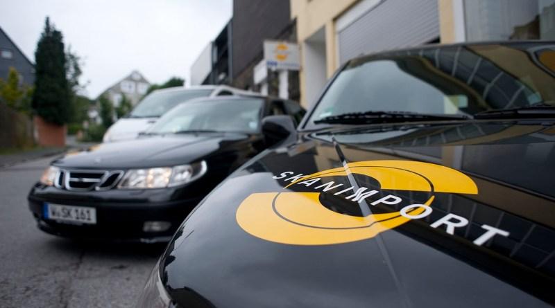 Vehículos de la compañía Saab