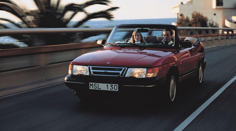 Sommer! Saab 900 Cabriolet unterwegs im Süden