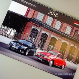 Calendario Saab 2018