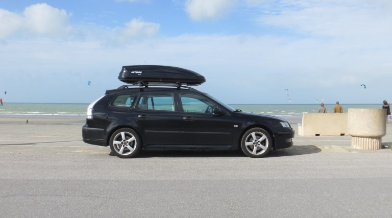 With the Saab to the sea