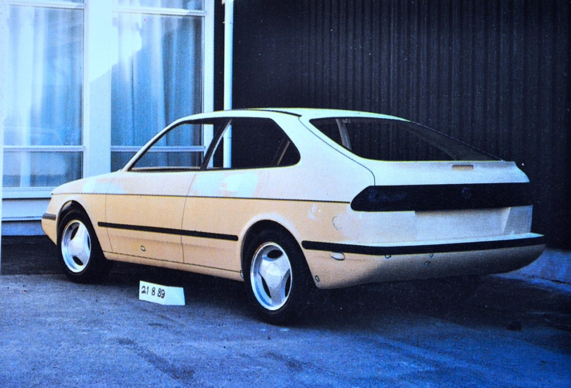 Saab-project 102 in augustus 1989