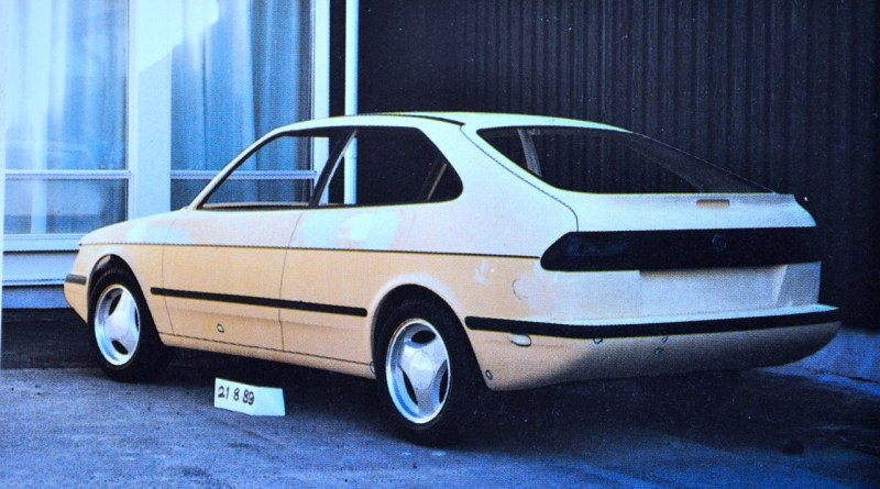 Saab project 102 in August 1989