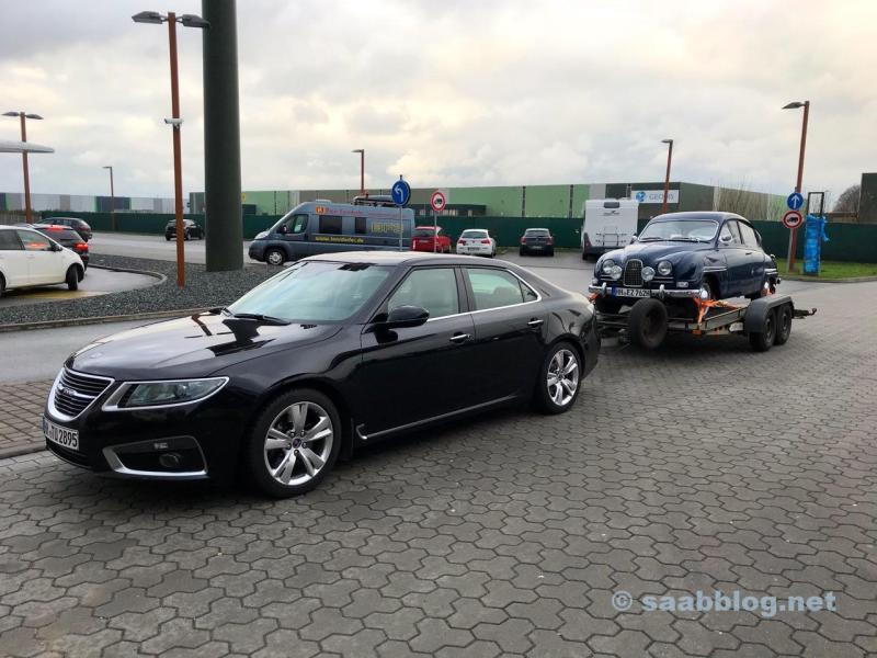 Saab 9 5 NG e Saab 96