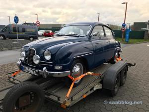 Saab 96 de dos tiempos
