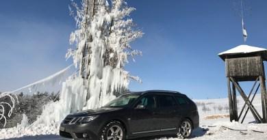 Saab & Schnee. Noch mehr Bilder!