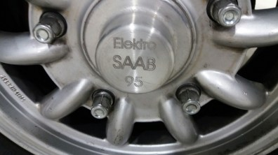 Elektrische Saab 95. Fotocredit: 1. Duitse Saab Club