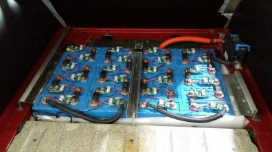 Tutto elettrico? Batterie nell'95. Credito fotografico: 1. Club Saab tedesco