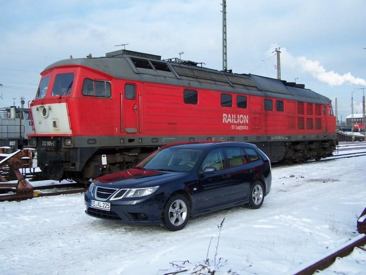 Dieselkraft! 1.9 liter möts 220. Inte enligt den politiska mainstream, men imponerande
