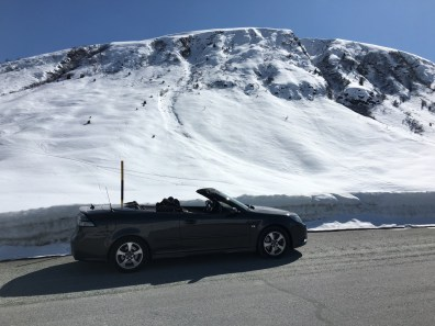 When, if not now? 9-3 convertible from Hans. Of course, open.