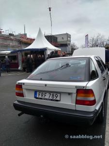 Fast 30 Jahre in einer Hand. Saab 9000 CC.
