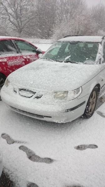 Saab Winter impressão de Sascha