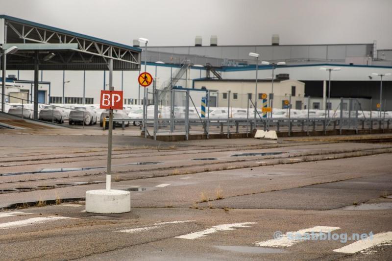 Trollhättan, la antigua fábrica de Saab April 2018.