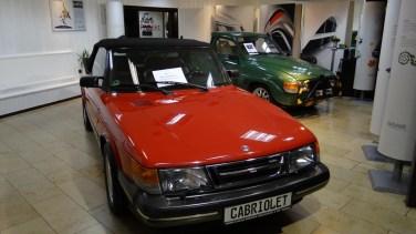Klassiker: Saab 900 Cabriolet. Bild: Bredlow