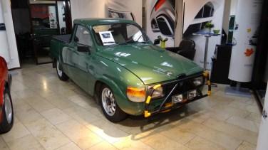 Individuell: Saab 95 Pickup. Bild: Bredlow