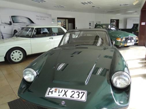 Saab Sonett e Saab 99 Turbo nello showroom