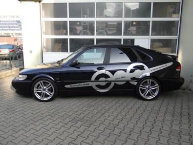 Saab = плоскость. Мощность Saab 9-3
